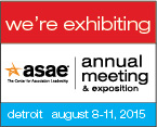 ASAE Annual We're Exhibiting Logo